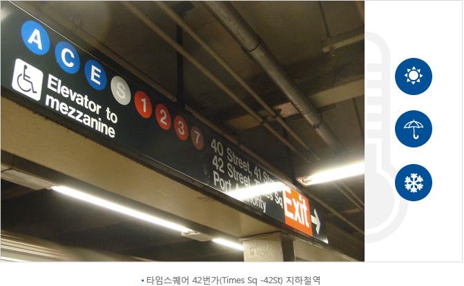 타임스퀘어 42번가(Times Sq -42St) 지하철역
