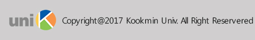 copyright 2017 Kookmin Univ. All Right Reservered