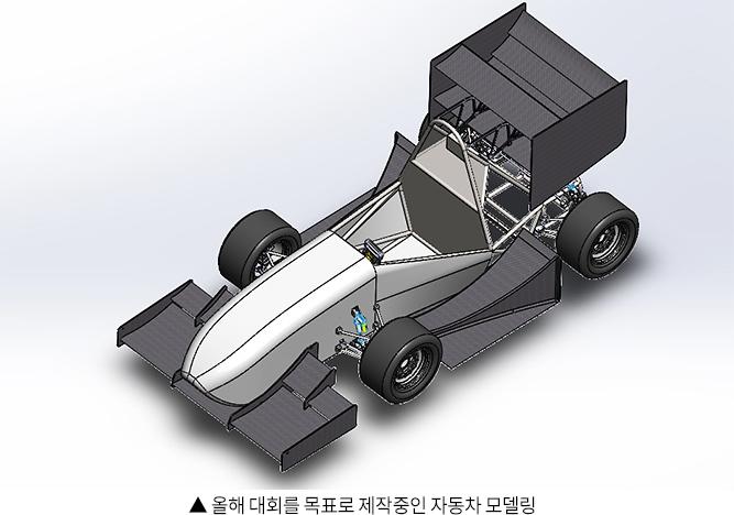 올해 대회를 목표로 제작중인 자동차 모델링